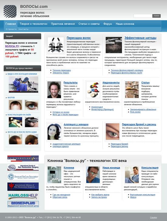 Медицинский портал Волосы.com